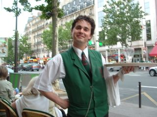 Waiter Paris